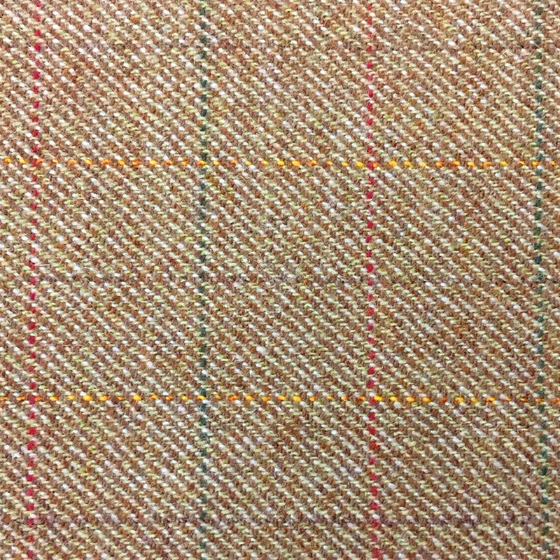 Teviot Light Brown Tweed Check 952
