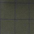 Teviot Green Navy Tweed Check 986