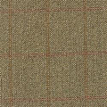 Teviot Green Herringbone Tweed Check 950