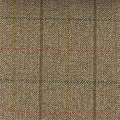 Teviot Light Brown Tweed Check 970