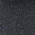 Teviot Charcoal Grey Tweed Check 988