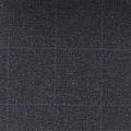 Teviot Charcoal Grey Tweed Check 988