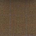 Teviot Rich Brown Herringbone Tweed Check 973