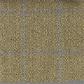 Teviot Green Herring Bone Tweed Check with Purple/Blue 953