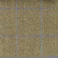 Teviot Green Herring Bone Tweed Check with Purple/Blue 953