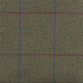 Teviot Dark Green Tweed Check 963