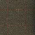 Teviot Dark Brown Herringbone Check Tweed 972