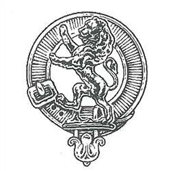 Lion Rampant Clan Crest