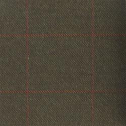 Teviot Dark Brown Herringbone Check Tweed 972
