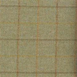 Teviot Green Tweed Check 958
