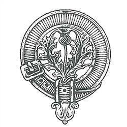 Scots Thistle Clan Crest
